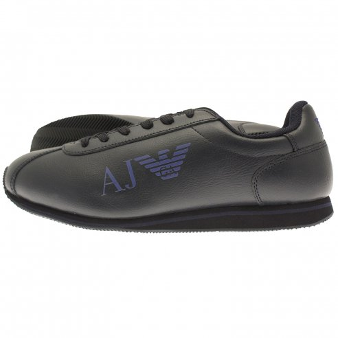 Armani Jeans 06533 35 Leather Trainer
