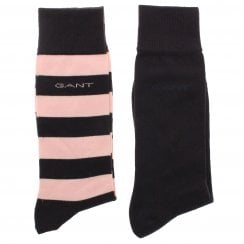 Gant 2 Pack Bar Stripe Socks