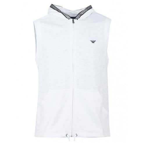 Emporio Armani 211808 Sleeveless Hooded Sweat