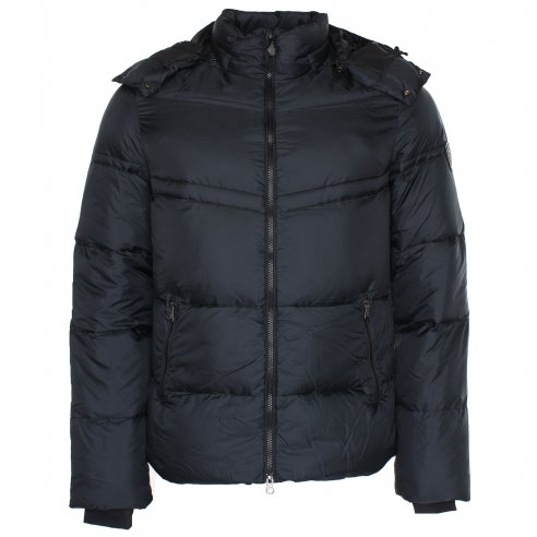 EA7 271271 Hooded Duck Down Puffa Jacket