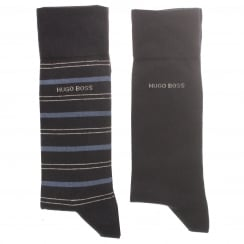 BOSS Black 50373162 2Pack Socks