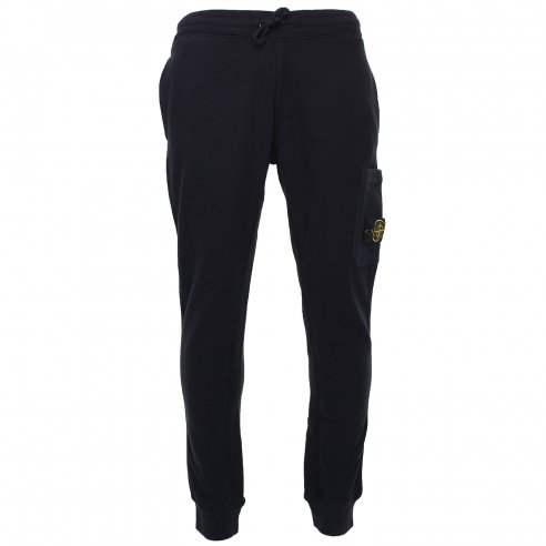 Stone Island 66620 Brushed Cotton Fleece Sweatpants