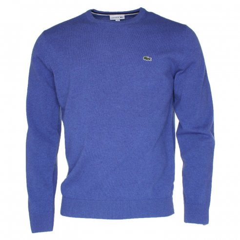 390d855be92f4 Lacoste AT9 Blue AH0841 Knit Sweater