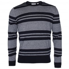 Lacoste AH6272 Striped Mouliné Sweater