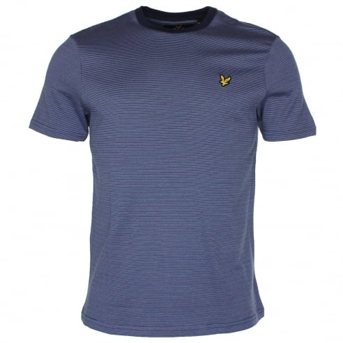 Lyle & Scott Allover Stripe T-Shirt