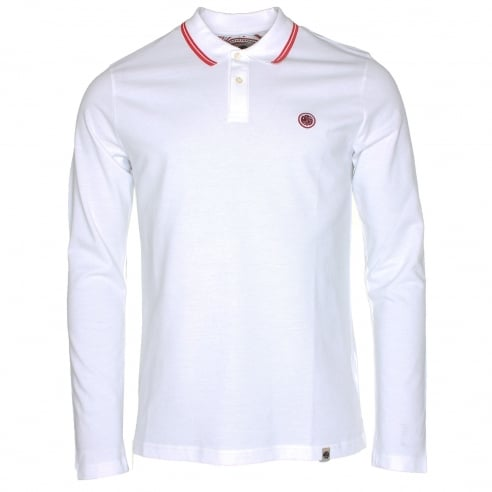 Pretty Green Barton Long Sleeve Polo