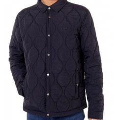 Lacoste BH8416 Lightweight Collapsible Quilted Jacket