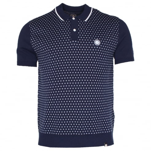 Pretty Green Birdseye Knit Polo
