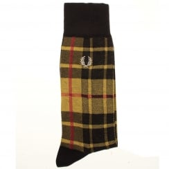 Fred Perry C2120 Tartan Socks