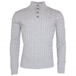 Gant Cotton Cable Mockneck Jumper