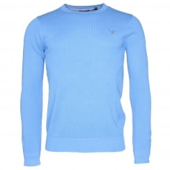 Gant Cotton Pique Crew Sweater