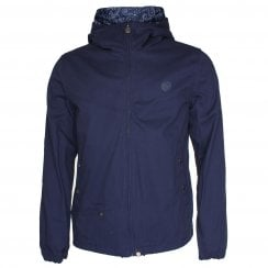 Pretty Green Cotton Zip Hooded Jacket