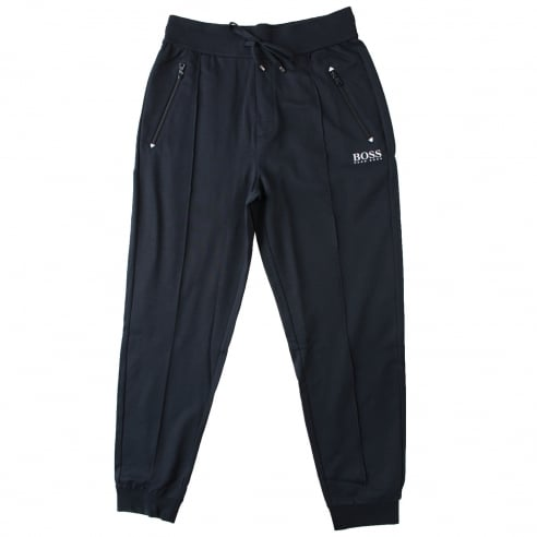 BOSS Black Cuffed Track Pants