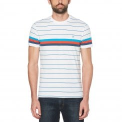 Original Penguin Engineered Stripe T-Shirt