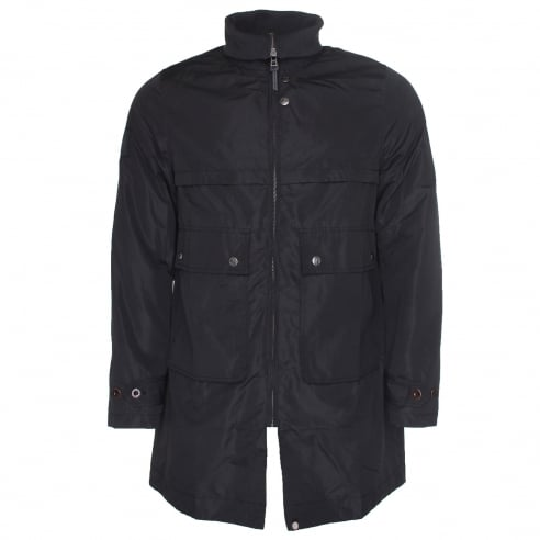 Pretty Green Funnel Neck Parka
