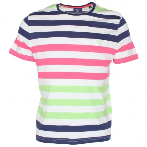 Gant GC Multi Stripe T-Shirt