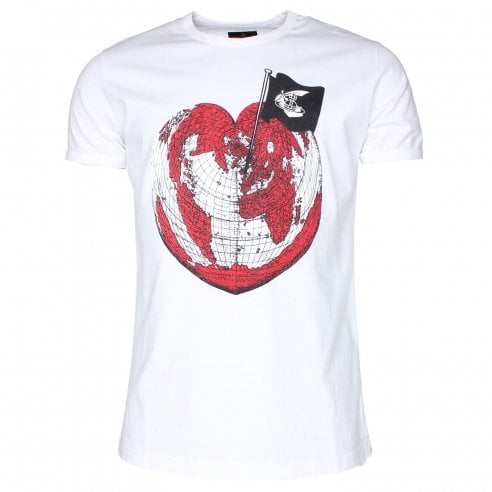 Vivienne Westwood Anglomania Heart World T-Shirt