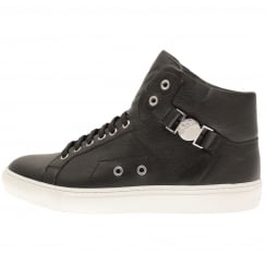 Versace Collection High Top Buckle Trainers