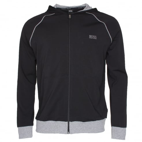 BOSS Black Hooded Jacket