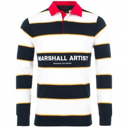 Marshall Artist Hoop Rugby Polo