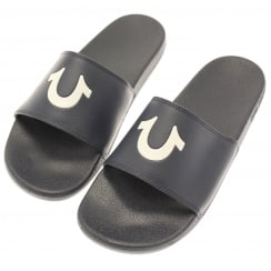 True Religion  Horse Shoe Sliders