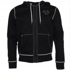 True Religion Horseshoe Zip Hooded Jumper