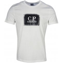 C.P. Company Jersey 30/1 Patch Print T-Shirt