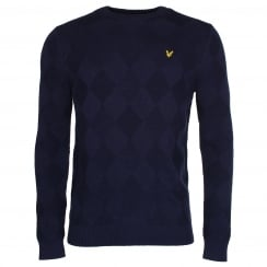 Lyle & Scott KN508V Textured Jumper