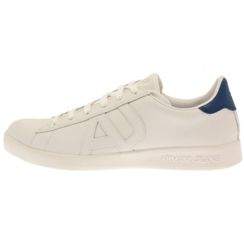 Armani Jeans Lace Up Trainers