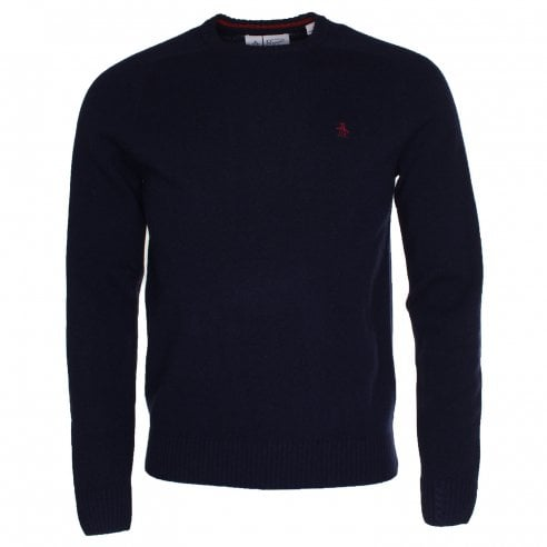 Original Penguin Lambswool Crew Knit