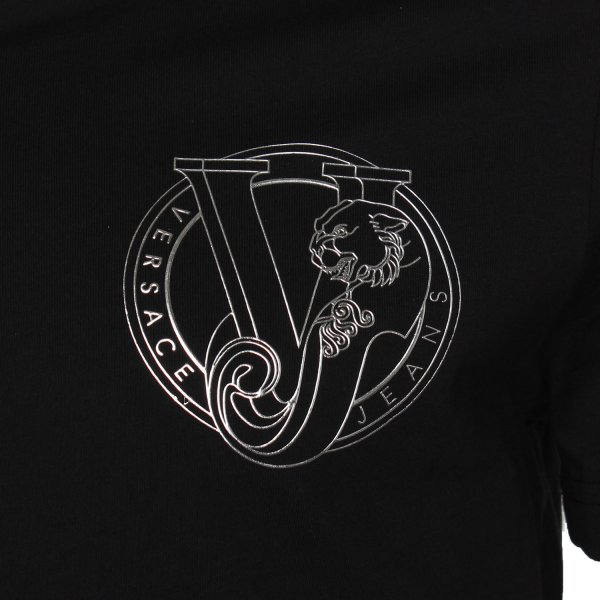 a50a5155bbc0 Versace Jeans Logo 38 V-Neck T-Shirt - Versace Jeans from The Menswear Site  UK