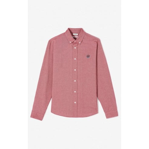 Kenzo Long Sleeve Oxford Shirt