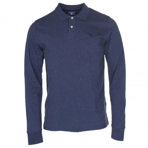 Gant Long Sleeve Polo
