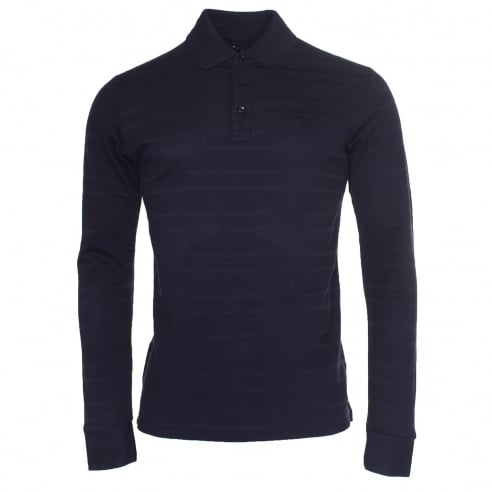 Gant Long Sleeve Stripe Polo