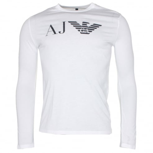 69f8fe0acbd Armani Jeans Long Sleeve T-Shirt - Armani Jeans from The Menswear Site UK