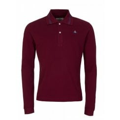 Vivienne Westwood Long Sleeved Tipped Polo