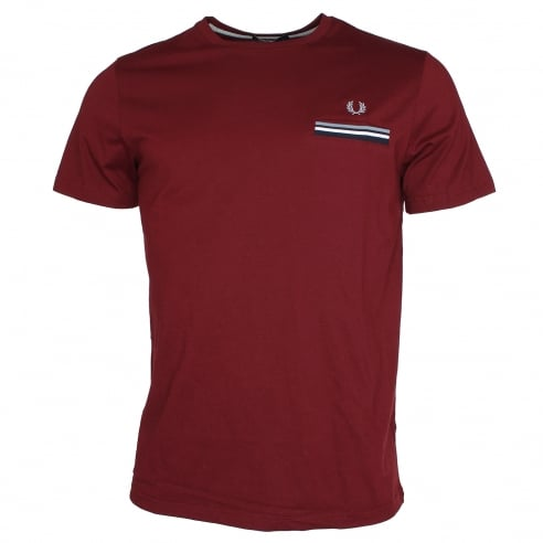 Fred Perry M1557 Twin Tipped Pocket T-Shirt