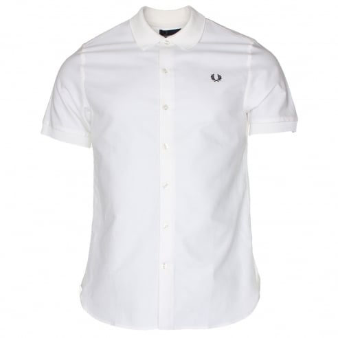 Fred Perry M3550 Knitted Collar Shirt