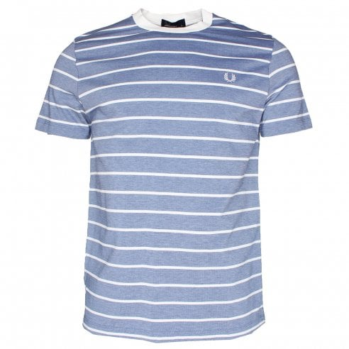 Fred Perry M3569 Oxford Stripe T-Shirt