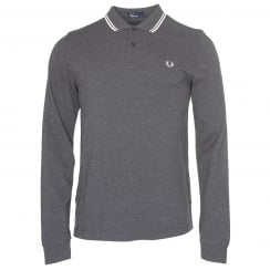 Fred Perry M3636 Long Sleeve Tip Polo