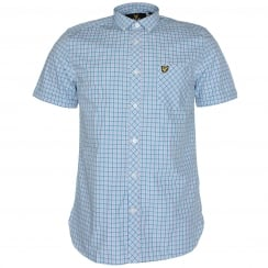 Lyle & Scott Micro Check Shirt
