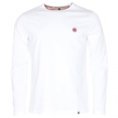 Pretty Green Mitchell Long Sleeve T-Shirt