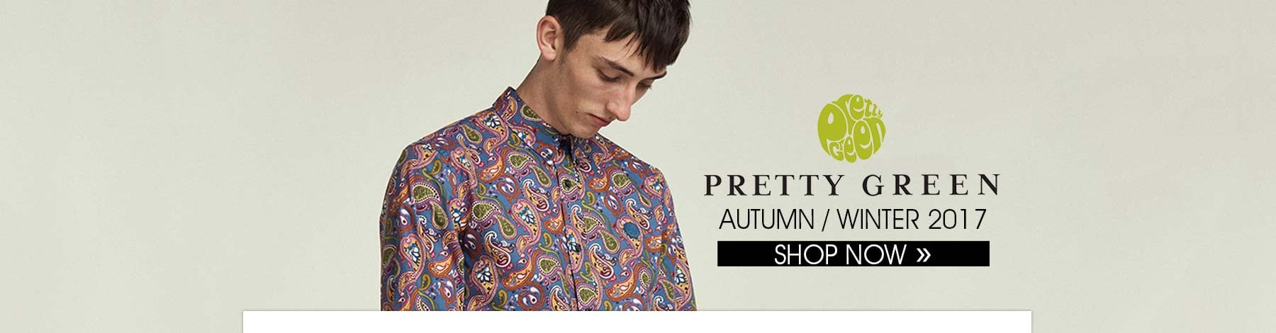 Pretty Green Autumn Winter 2017