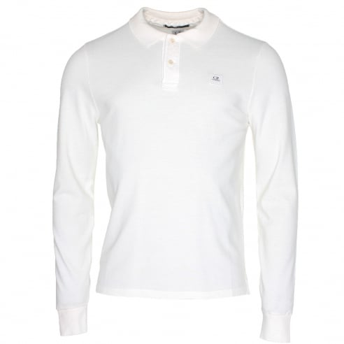 C.P. Company MPL042A Long Sleeve Polo