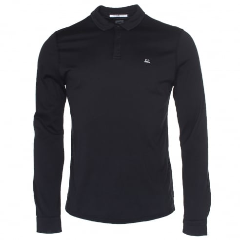 C.P. Company MPL046A Long Sleeve Polo