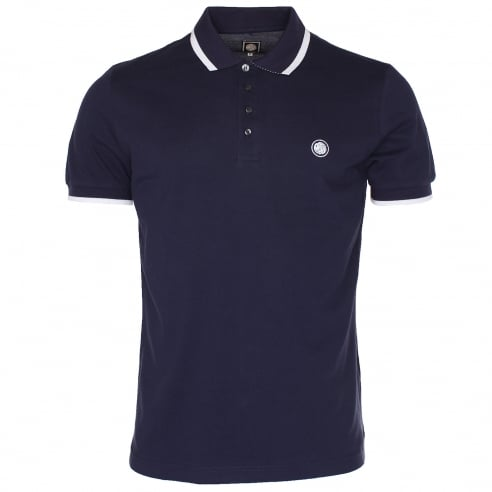 Pretty Green Multi Stripe Polo T-Shirt