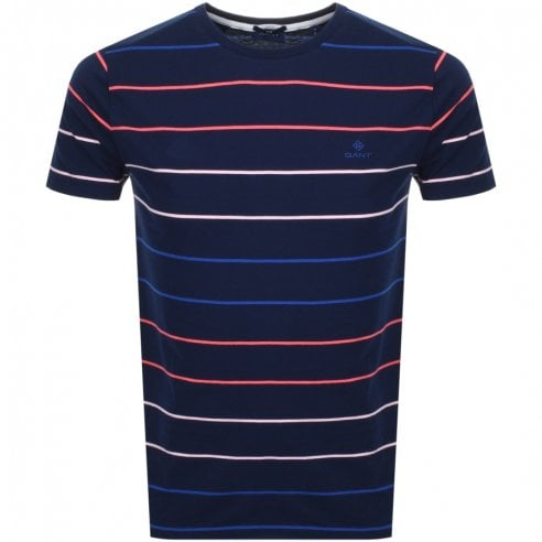 Gant Multi Stripe T-Shirt