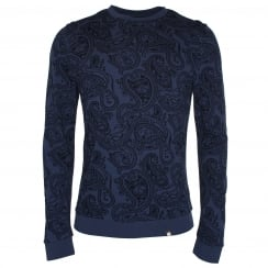 Pretty Green Naseby Paisley Sweater
