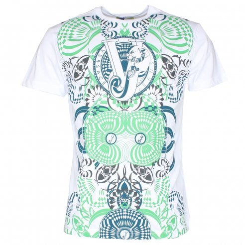 Versace Jeans Optical Print T-Shirt