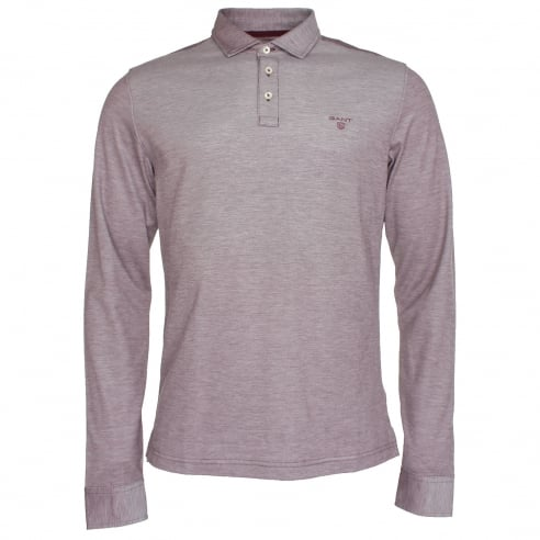 Gant Oxford Long Sleeve Polo